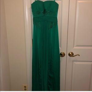 BCBG Emerald long dress